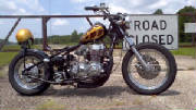 1978 Honda CB750 SOHC Hardtail Conversion
