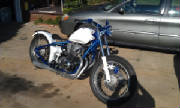 Honda CB750 SOHC 1976 Hardtail Conversion