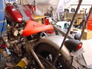Noel Morgan's Honda-Davidson Bobber