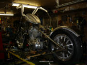 Harley Davidson Sportster - Custom Rigid - Alternative Cycle build I - mock up