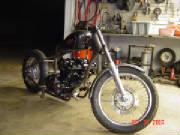 Tip's Texas Dream - Honda CB750 DOHC - Custom Rigid
