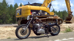 Honda CB750 SOHC Hardtail Conversion