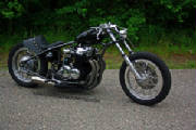 Honda CB750 SOHC custom rigid