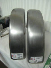 "6"" Flat Fender Hard Body 14 gauge, 48"" circumference"