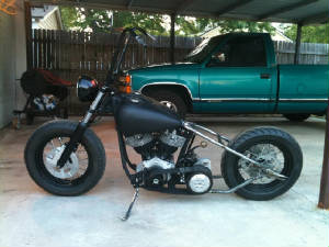 Harley Davidson Hardtail - 4 speed shovel