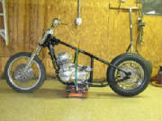 Honda CB750A Automatic Hard Tail Conversion
