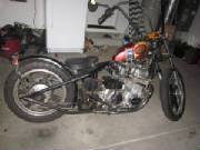 Honda CB750 SOHC 77-78  Hardtail Conversion