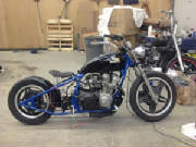 1981 Honda CB750C Hardtail Conversion