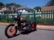 Honda CB750 DOHC 79-82 Hardtail conversion