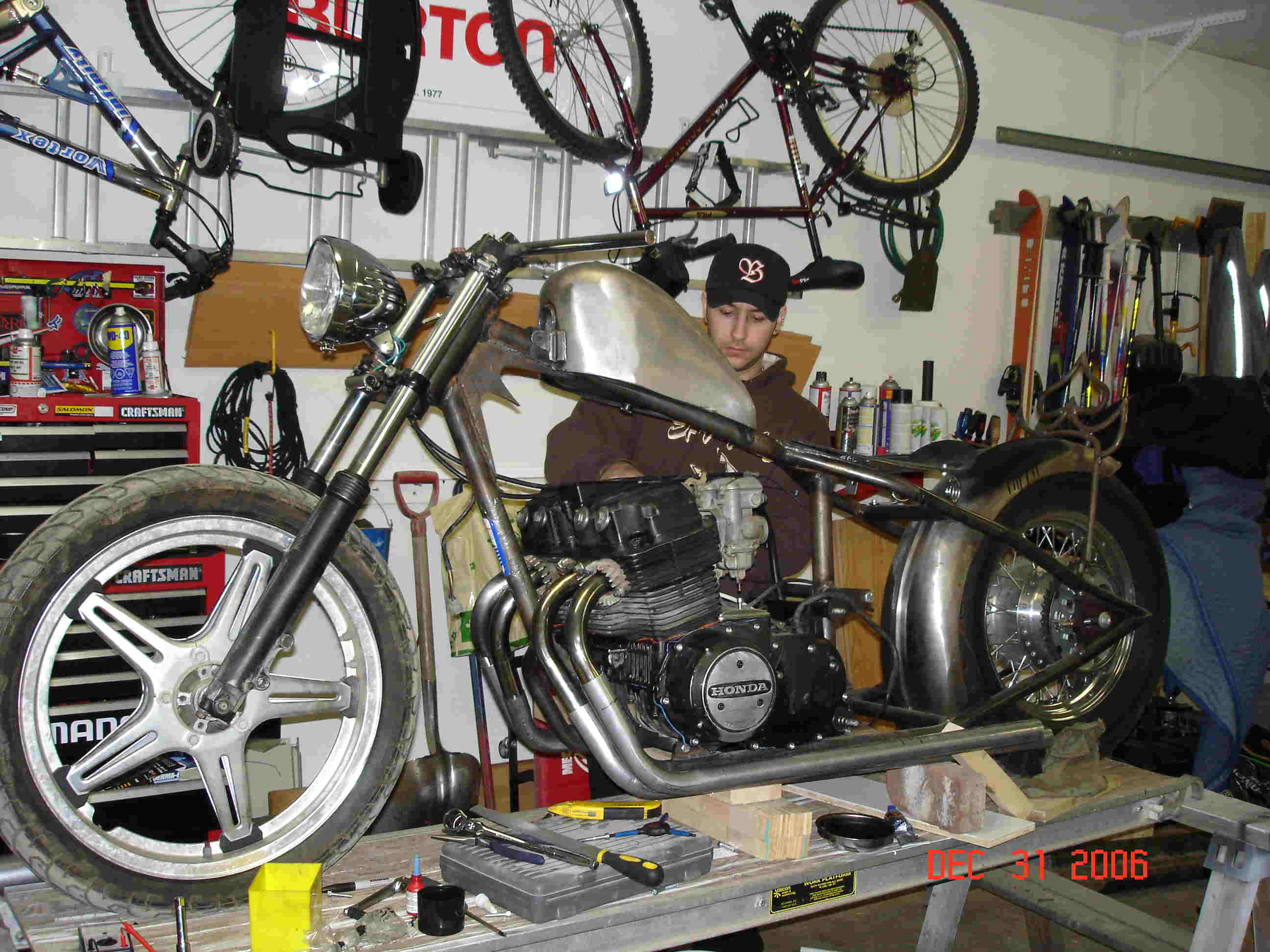 Honda CB750 SOHC Rigid Chopper